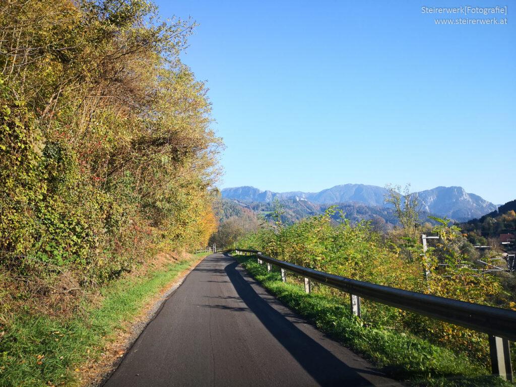 Murradweg in der Steiermark