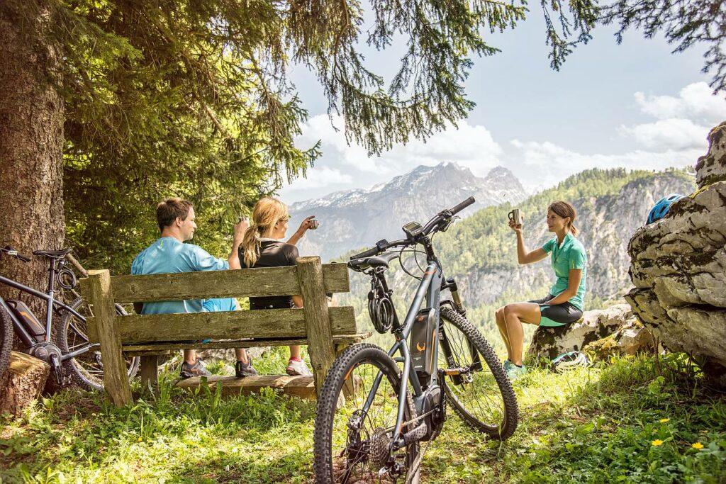 E-MTB Salzburger Saalachtal Radtouren