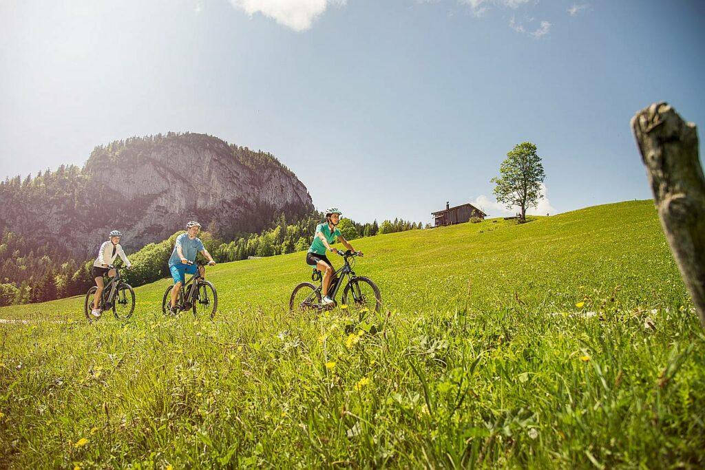 Radtouren Ebike Salzburg Saalachtal