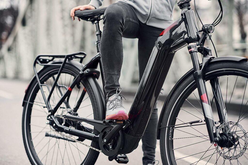 Tiefeinsteiger E-Bike