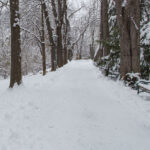 Radfahren bei Schnee